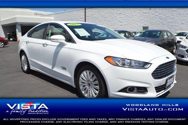 2015 Ford Fusion Energi SE Luxury SE Luxury 4dr Sedan