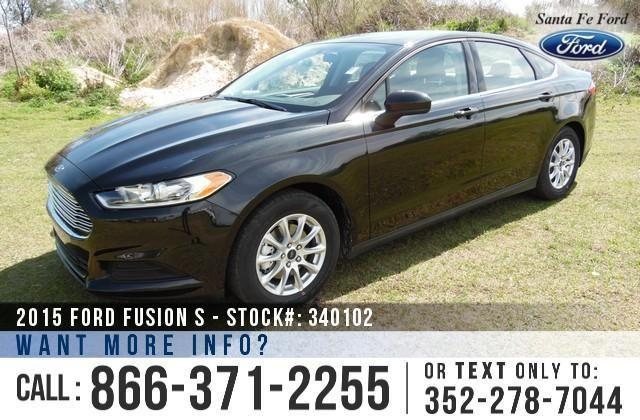 2015 Ford Fusion S - SAVE thousands on ALL New Ford
