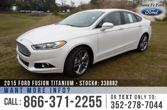 2015 Ford Fusion Titanium - SAVE thousands on ALL New
