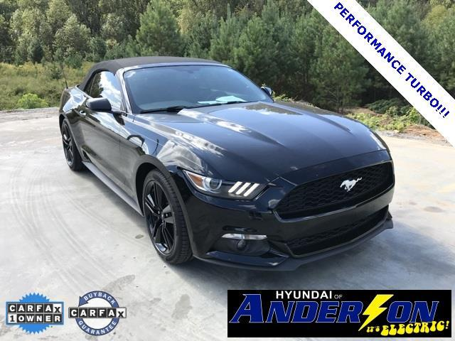 2015 ford mustang ecoboost premium ecoboost premium 2dr convertible for sale in anderson south. Black Bedroom Furniture Sets. Home Design Ideas