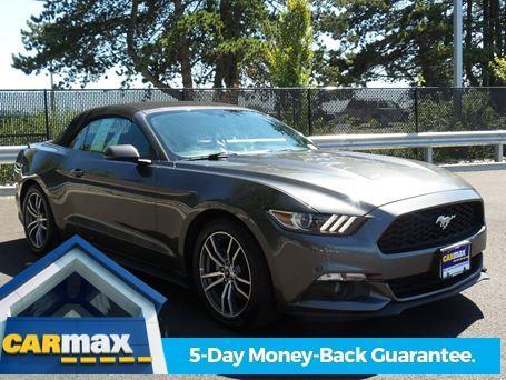2015 ford mustang ecoboost premium ecoboost premium 2dr convertible for sale in beaverton. Black Bedroom Furniture Sets. Home Design Ideas
