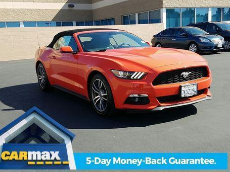 2015 ford mustang ecoboost premium ecoboost premium 2dr convertible for sale in sacramento. Black Bedroom Furniture Sets. Home Design Ideas
