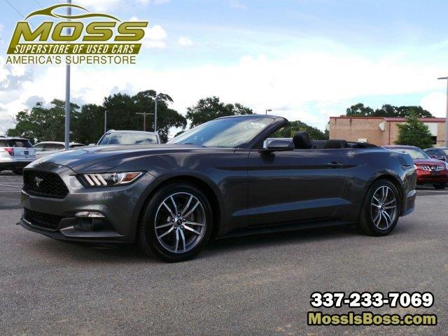 2015 ford mustang ecoboost premium ecoboost premium 2dr convertible for sale in lafayette. Black Bedroom Furniture Sets. Home Design Ideas