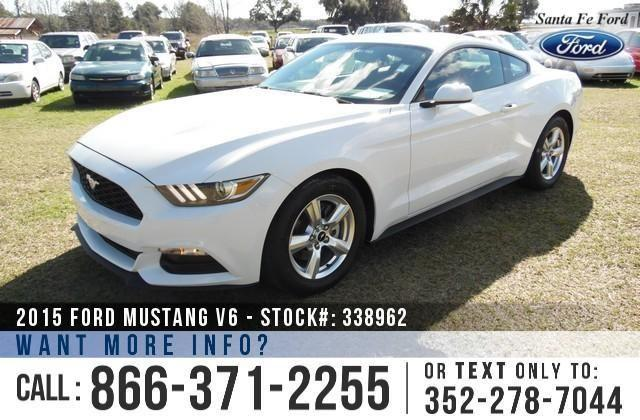 2015 Ford Mustang V6 - Sticker $25,620 - Save