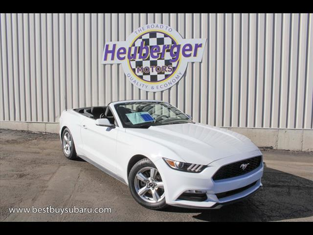 2015 Ford Mustang V6 V6 2dr Convertible