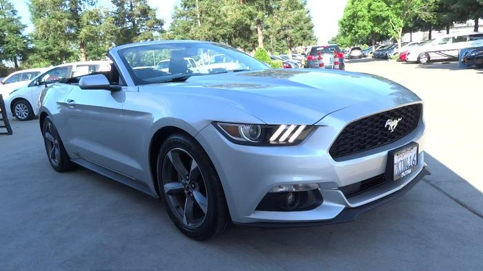 2015 ford mustang v6 v6 2dr convertible for sale in fresno california classified. Black Bedroom Furniture Sets. Home Design Ideas