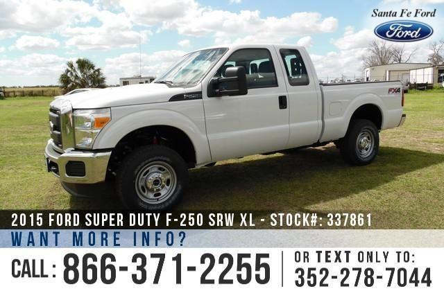 2015 Ford Super Duty F-250 - SAVE thousands on ALL New