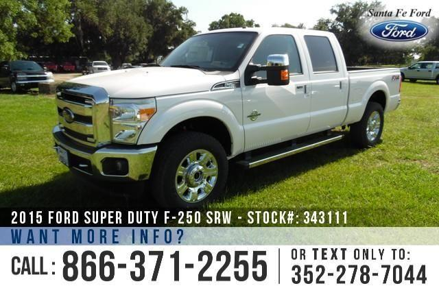 2015 Ford Super Duty F-250 SRW - Sticker $66,860 - SAVE