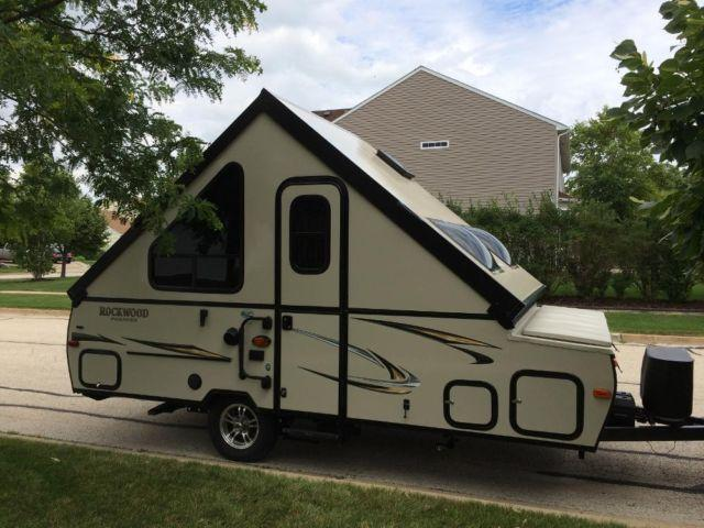 2015 forest river rockwood premier a122s hardside a frame popup camper
