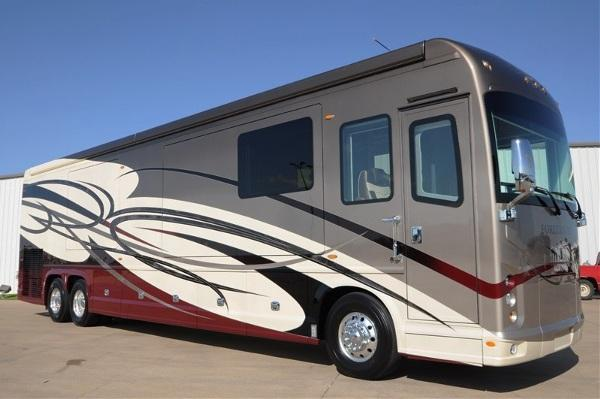 2015 foretravel ih 45 luxury motor coach bath half mod