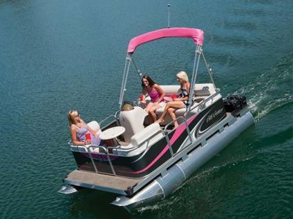 2015 Gillgetter 715 Cruise Rl Electric Pontoon Boat