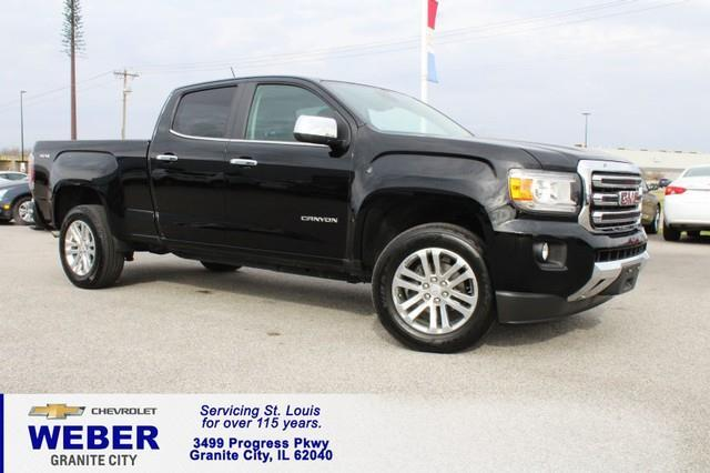 2015 GMC Canyon SLT 4x4 SLT 4dr Crew Cab 5 ft. SB