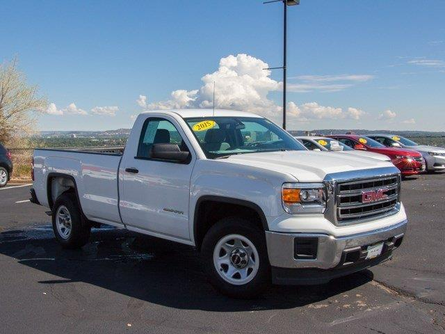 2015 gmc sierra 1500 base 4x2 base 2dr regular cab 8 ft lb for sale in colorado springs. Black Bedroom Furniture Sets. Home Design Ideas