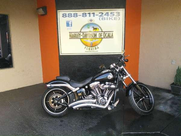 2015 Harley Davidson Custom Breakout With Vance And Hi: 2015 Harley-Davidson Breakout For Sale In Ocala, Florida