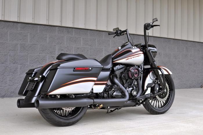 Dallas Harley Davidson >> 2015 Harley Davidson Custom Fat Daddy Black Road King For