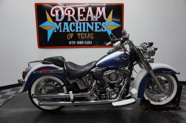2015 Harley Davidson Flstn Softail Deluxe Abs 103 For