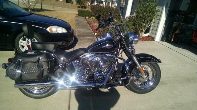2015 Harley Davidson Heritage Softail FLSTC