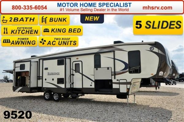 Beautiful 2015 Heartland ElkRidge 38RSRT Resort WDual Pane Glass For Sale In