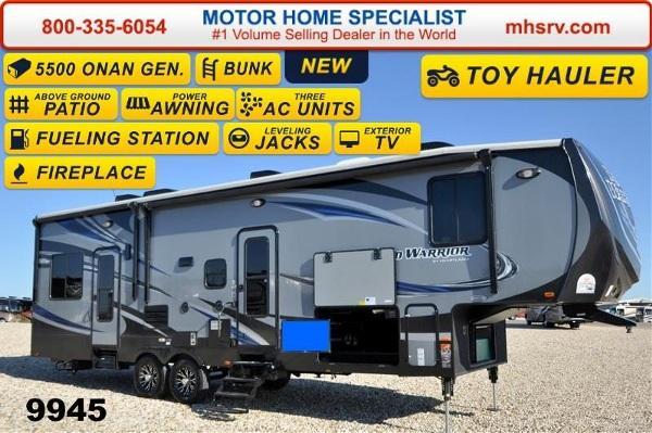 2015 Heartland Road Warrior Rw310 W 2 Slides Auto Leve For