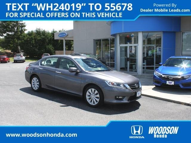 2015 Honda Accord EX-L EX-L 4dr Sedan