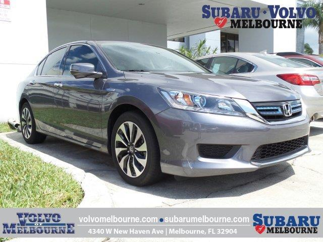 2015 Honda Accord Hybrid Base Base 4dr Sedan