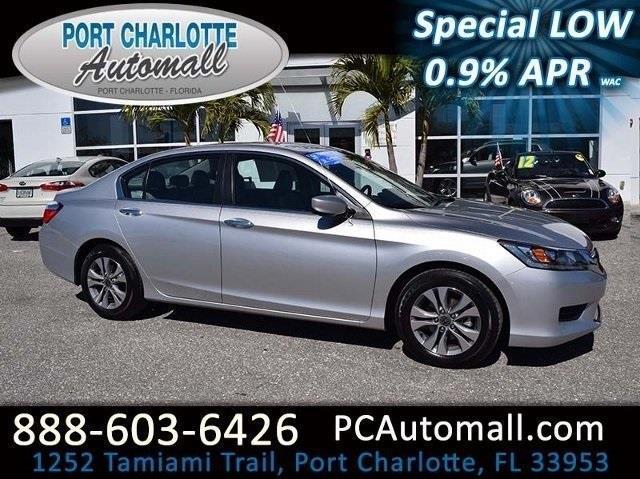 2015 honda accord lx lx 4dr sedan cvt for sale in port for Honda port charlotte fl