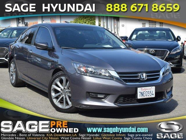 2015 Honda Accord Sport Sport 4dr Sedan CVT