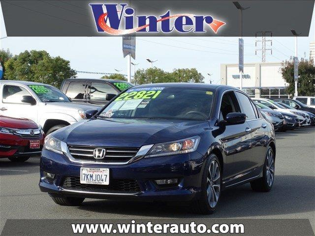 2015 honda accord sport sport 4dr sedan cvt for sale in bay point california classified. Black Bedroom Furniture Sets. Home Design Ideas