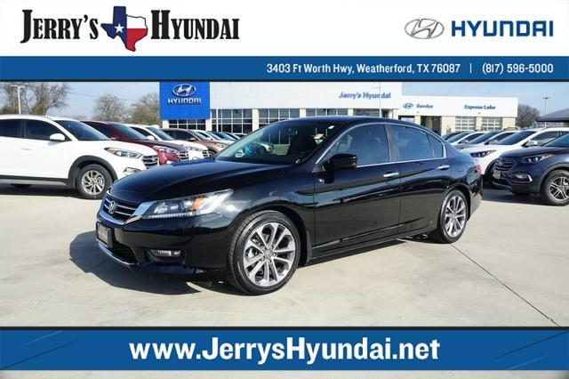 2015 honda accord sport sport 4dr sedan cvt for sale in weatherford texas classified. Black Bedroom Furniture Sets. Home Design Ideas