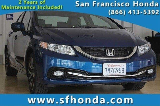 2015 Honda Civic EX-L EX-L 4dr Sedan