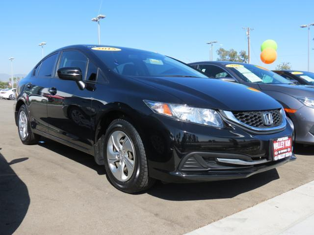 2015 Honda Civic LX LX 4dr Sedan CVT