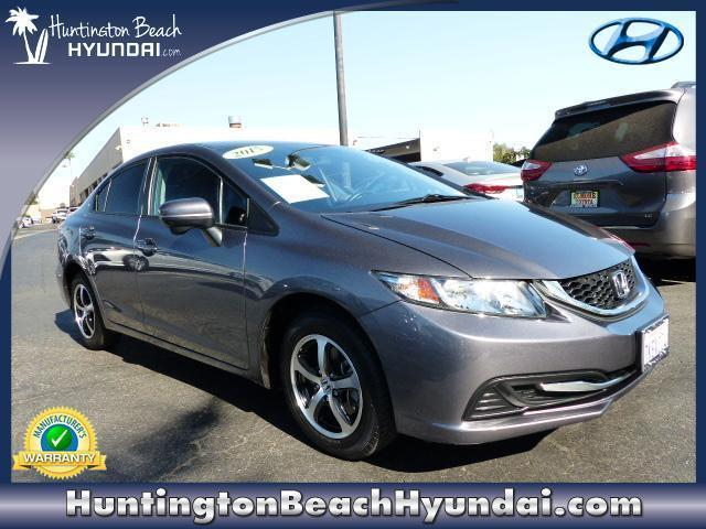 2015 Honda Civic SE SE 4dr Sedan