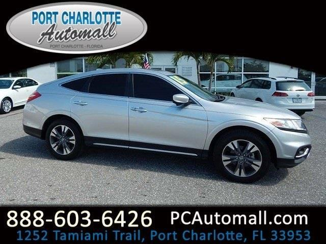 2015 honda crosstour ex l v6 ex l v6 4dr crossover for sale in port charlotte florida. Black Bedroom Furniture Sets. Home Design Ideas