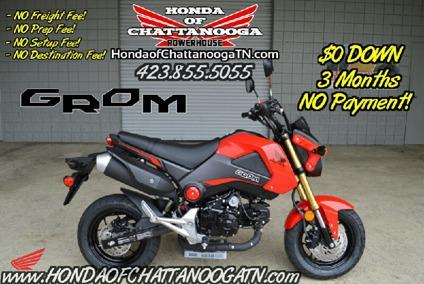 2015 honda grom 125 for sale tn ga al area for Honda motorcycle dealers in tennessee