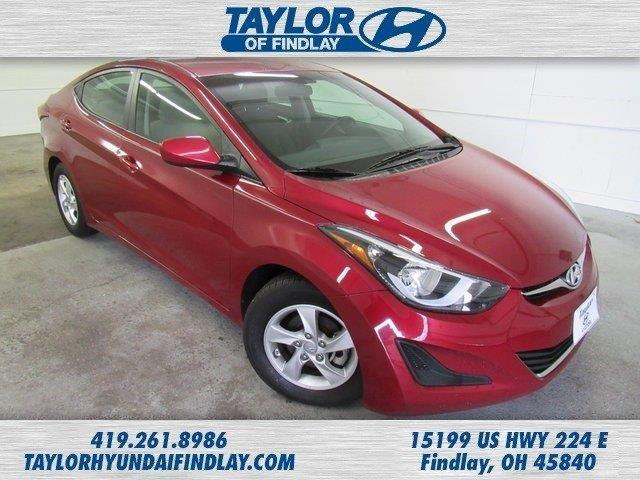 2015 hyundai elantra se se 4dr sedan for sale in findlay. Black Bedroom Furniture Sets. Home Design Ideas