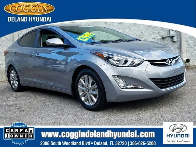 2015 hyundai elantra se se 4dr sedan for sale in de land. Black Bedroom Furniture Sets. Home Design Ideas