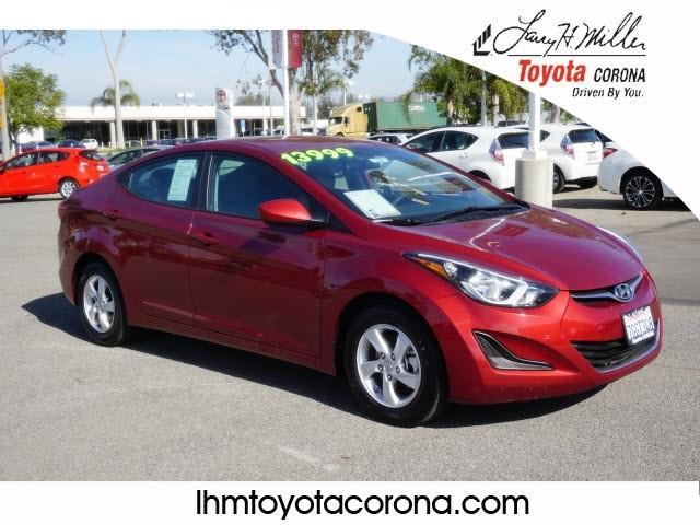 2015 hyundai elantra se se 4dr sedan for sale in corona. Black Bedroom Furniture Sets. Home Design Ideas