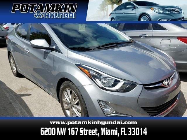 2015 hyundai elantra se se 4dr sedan for sale in hialeah. Black Bedroom Furniture Sets. Home Design Ideas