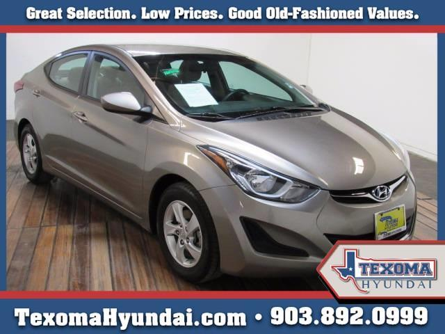 2015 hyundai elantra se se 4dr sedan for sale in sherman. Black Bedroom Furniture Sets. Home Design Ideas