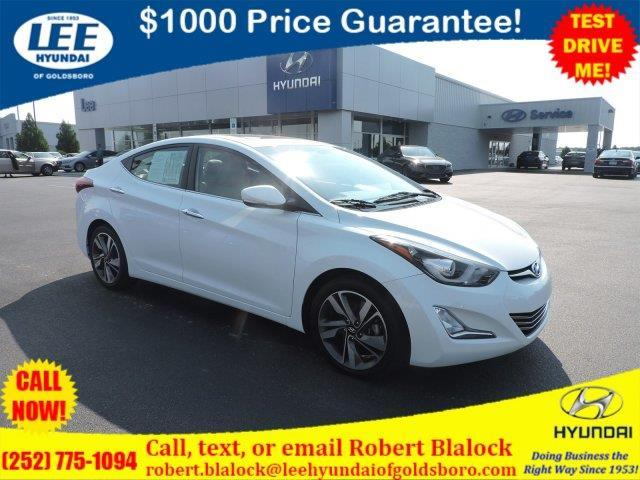 2015 hyundai elantra se se 4dr sedan for sale in goldsboro. Black Bedroom Furniture Sets. Home Design Ideas