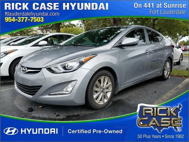 2015 hyundai elantra se se 4dr sedan for sale in davie. Black Bedroom Furniture Sets. Home Design Ideas