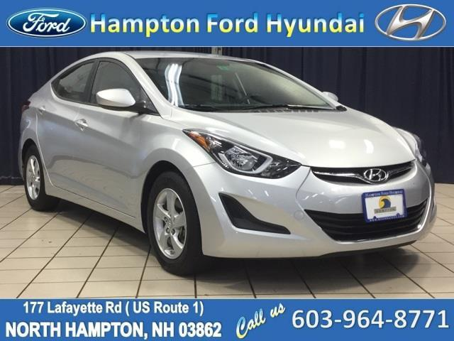 2015 hyundai elantra se se 4dr sedan for sale in north. Black Bedroom Furniture Sets. Home Design Ideas