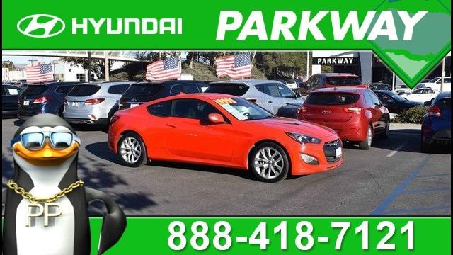 2015 Hyundai Genesis Coupe 3.8 3.8 2dr Coupe 6M