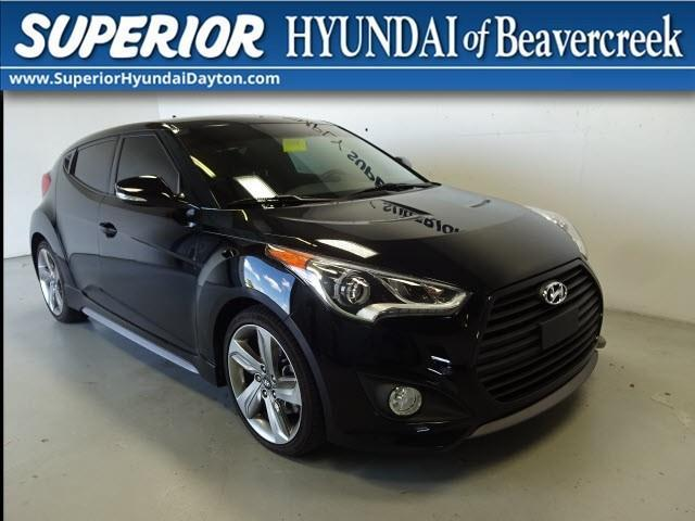 2015 hyundai veloster turbo r spec r spec 3dr coupe w red seats for sale in dayton ohio. Black Bedroom Furniture Sets. Home Design Ideas