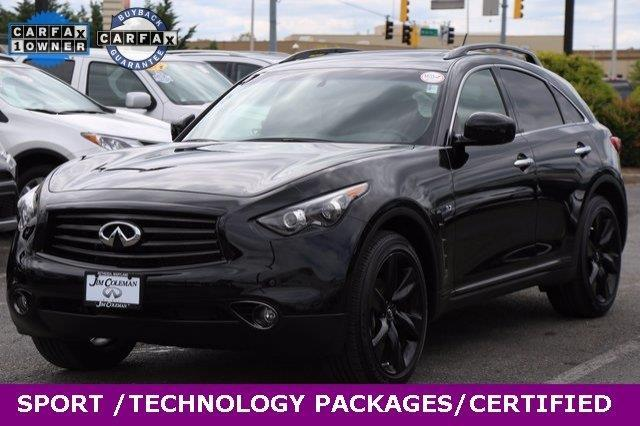 2015 infiniti qx70 base awd 4dr suv for sale in bethesda maryland classified. Black Bedroom Furniture Sets. Home Design Ideas