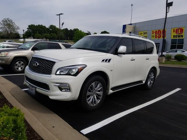 2015 infiniti qx80 base awd 4dr suv for sale in overland park kansas classified. Black Bedroom Furniture Sets. Home Design Ideas