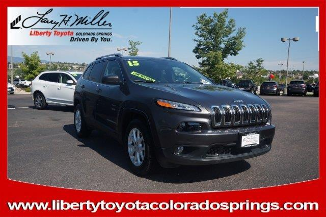 2015 jeep cherokee latitude 4x4 latitude 4dr suv for sale in colorado springs colorado. Black Bedroom Furniture Sets. Home Design Ideas
