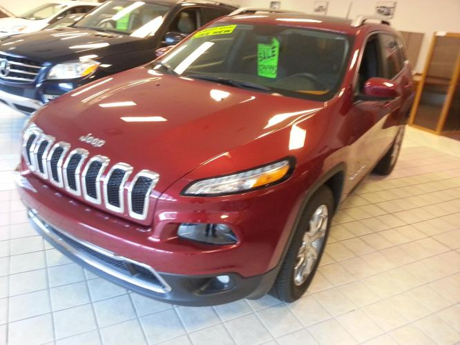 2015 Jeep Cherokee Limited 4x4 Limited 4dr SUV