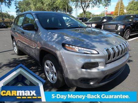 2015 Jeep Cherokee Sport Sport 4dr SUV