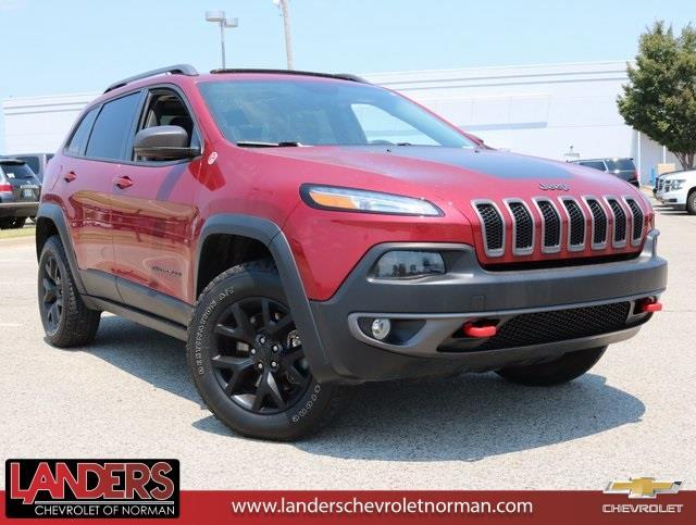 2015 jeep cherokee trailhawk 4x4 trailhawk 4dr suv for sale in norman oklahoma classified. Black Bedroom Furniture Sets. Home Design Ideas